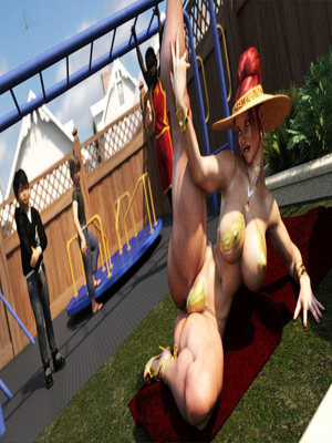 3D Porn Comics Morgan – Playground Fun- Zz2tommy Porn Comic 15