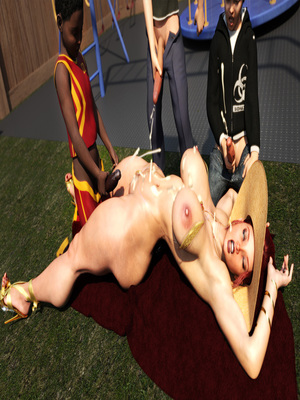 3D Porn Comics Morgan – Playground Fun- Zz2tommy Porn Comic 29