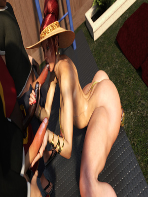3D Porn Comics Morgan – Playground Fun- Zz2tommy Porn Comic 35