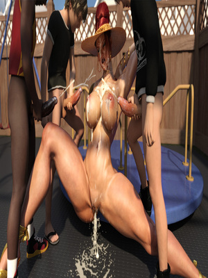 3D Porn Comics Morgan – Playground Fun- Zz2tommy Porn Comic 51