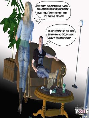 Y3DF Comics Mother's revenge- Y3DF Porn Comic 02