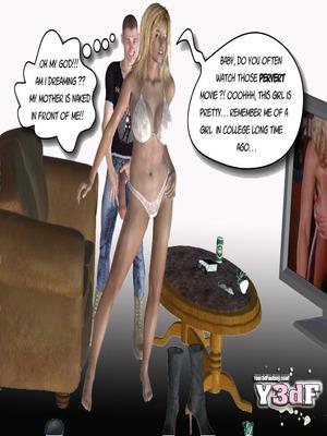 Y3DF Comics Mother's revenge- Y3DF Porn Comic 10
