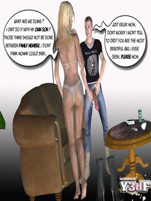 Y3DF Comics Mother's revenge- Y3DF Porn Comic 11