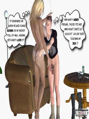 Y3DF Comics Mother's revenge- Y3DF Porn Comic 17