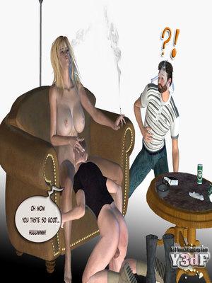 Y3DF Comics Mother's revenge- Y3DF Porn Comic 39