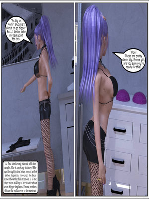 3D Porn Comics MrPhoenyxx – Implant Absorption Porn Comic 13