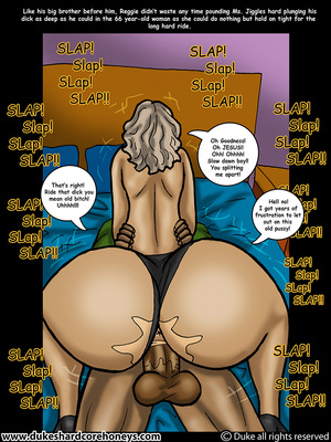 Mrs. Jiggles- Twerking GILF free Porn Comic sex 08