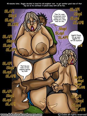 Mrs. Jiggles- Twerking GILF free Porn Comic sex 10