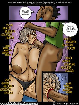 Mrs. Jiggles- Twerking GILF free Porn Comic sex 14