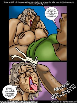 Mrs. Jiggles- Twerking GILF free Porn Comic sex 15