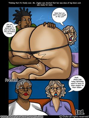Mrs. Jiggles- Twerking GILF free Porn Comic