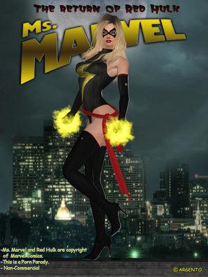 Porn Comics - Ms. Marvel vs Red Hulk- The Return of Red Hulk free Porn Comic