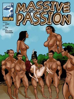 Porn Comics - Muscle Fan- Massive Passion free Porn Comic