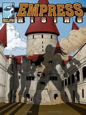 Adult Comics Musclefan- Empress Rising Porn Comic 01