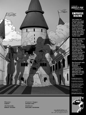 Adult Comics Musclefan- Empress Rising Porn Comic 02