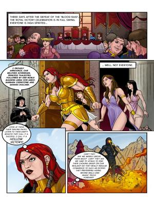 Adult Comics Musclefan- Empress Rising Porn Comic 03