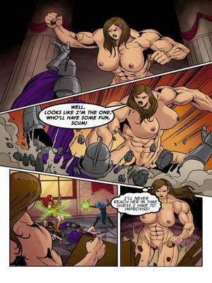 Adult Comics Musclefan- Empress Rising Porn Comic 08
