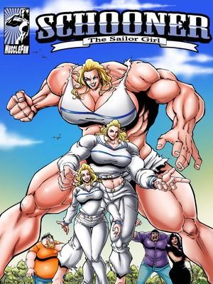 Porn Comics - MuscleFan- Schooner The Sailor Girl free Porn Comic