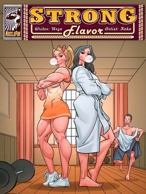 Porn Comics - MuscleFan- Strong Flavor 4 free Porn Comic