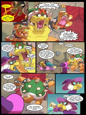 Adult Comics Mushroom Kinkdom- Super Mario Bros. Porn Comic 11