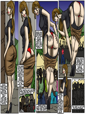 Interracial Comics My Wedding GangBang- illustrated interracial Porn Comic 03