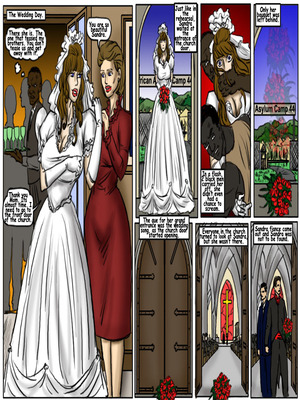 Interracial Comics My Wedding GangBang- illustrated interracial Porn Comic 04
