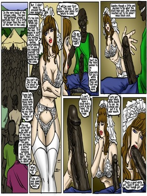 Interracial Comics My Wedding GangBang- illustrated interracial Porn Comic 05
