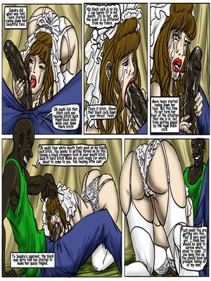 Interracial Comics My Wedding GangBang- illustrated interracial Porn Comic 06