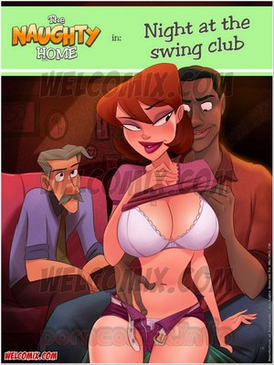 Porn Comics - Animated Incest – Naughty Home 18- Night at Swing Club Porn Comic