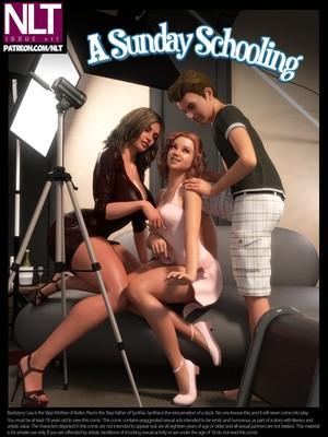 Porn Comics - NLT Media- A Sunday Schooling free Porn Comic