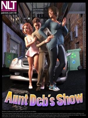 3D Porn Comics NLT Media- Aunt Debu2019s Show Porn Comic 01