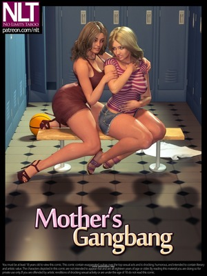 Incest Comics NLT- Mother's Gangbang Porn Comic 01