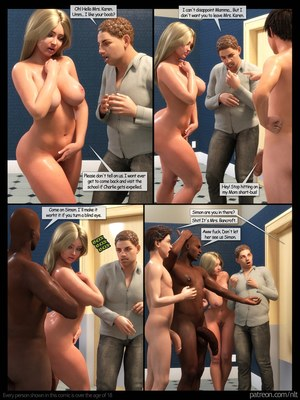 Incest Comics NLT- Mother's Gangbang Porn Comic 48