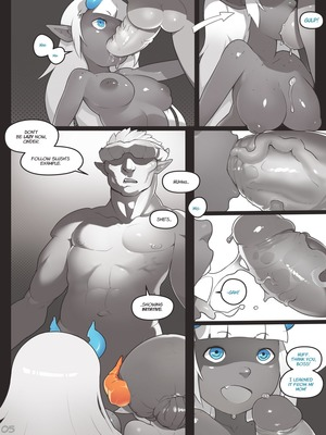 Adult Comics Norasuko- Locking Horns Porn Comic 05