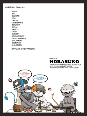 Adult Comics Norasuko- Locking Horns Porn Comic 26