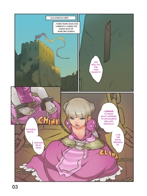Adult Comics Norasuko- Royal Chains Porn Comic 02