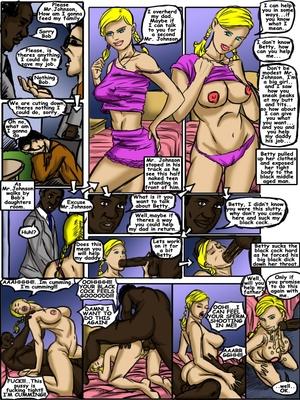 Interracial Comics Nymph 1-2 illustrated interracial Porn Comic 02