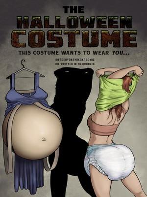 Porn Comics - okayokayokok- The Halloween Costume free Porn Comic