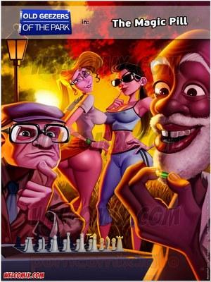 Porn Comics - Animated Incest – Old Geezers of Parks- Magic Pill- Welcomix Porn Comic