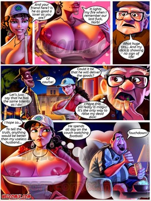 Incest Comics Old Geezers of Parks- Popcorn Cart Porn Comic 03
