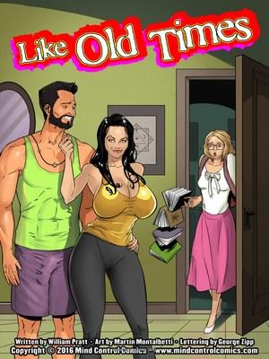 Adult Comics Old Times- Mind Control Porn Comic 01