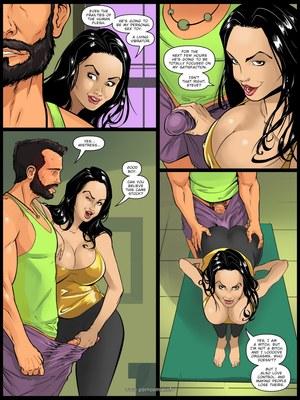Adult Comics Old Times- Mind Control Porn Comic 04