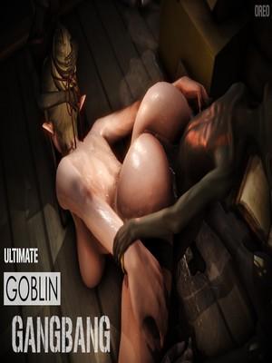 3D Porn Comics Oreo- Ultimate Goblin Gangbang Porn Comic 01