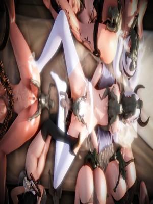 3D Porn Comics Oreo- Ultimate Goblin Gangbang Porn Comic 20