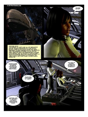 Porn Comics - Peril- Predator Planet Sky Ark 5 free Porn Comic
