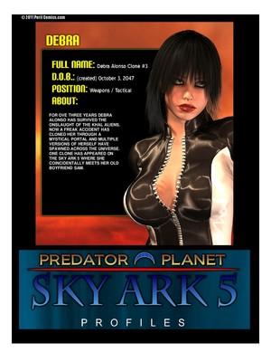 Peril- Predator Planet Sky Ark 5 free Porn Comic