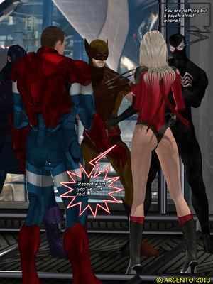 Pervs Psychopaths- Dark Avengers free Porn Comic sex 09