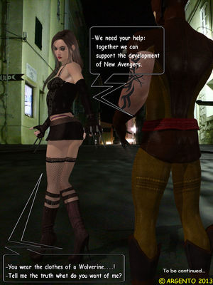 Pervs Psychopaths- Dark Avengers free Porn Comic