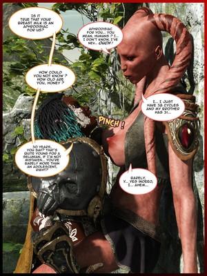 3D Porn Comics Pinkparticles- Helena Reinthol's Adventures Porn Comic 12