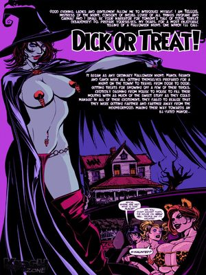 Porn Comics - Adult – Powerpuff Girls-  Dick or Treat Porn Comic